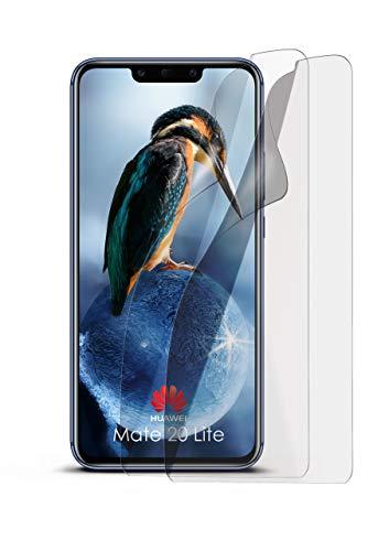 2X Huawei Mate 20 Lite | Schutzfolie Matt Display Schutz [Anti-Reflex] Screen Protector Fingerprint Handy-Folie Matte Displayschutz-Folie für Huawei Mate 20 Lite Displayfolie -