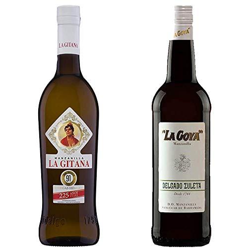 Manzanilla La Gitana Y Manzanilla La Goya - D. O. Manzanilla De Sanlúcar De Barrameda - 2 Botellas De 750 Ml