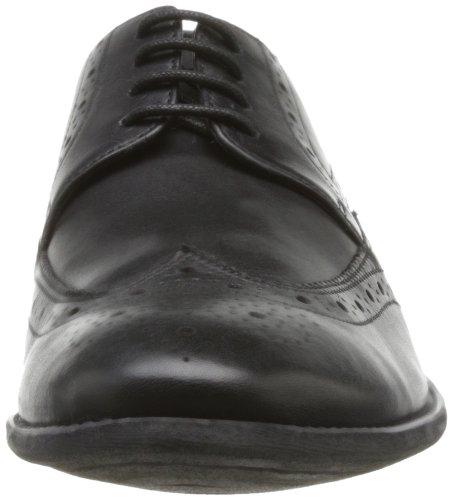 Clarks  Chart Limit,  Scarpe stringate uomo Nero (Black Leather)