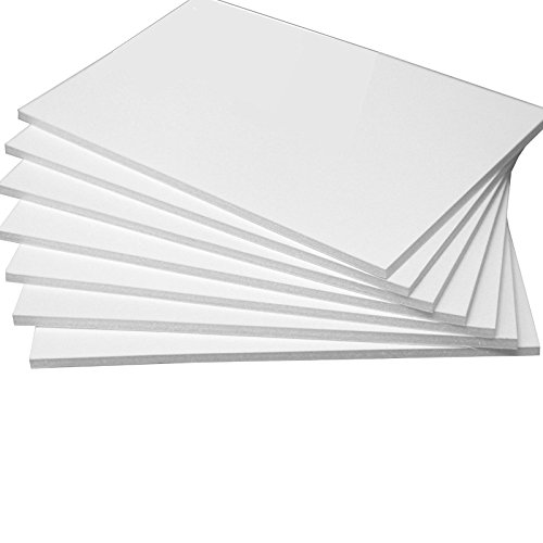 A1 Size 594x841mm 5mm Black Foam Board Pack of 10 Strong and High Quality