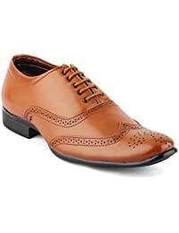 Isole Brown Lace Up Formal Shoes