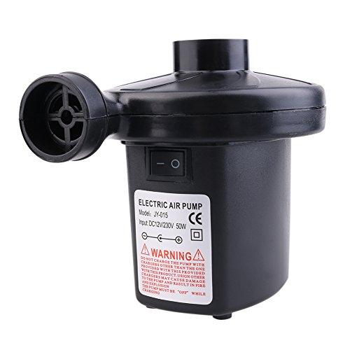 Dada tragbar DC elektrische Luftpumpe, Volumenpumpe/Deflator Elektrische Pumpen mit 3Düsen für Air Bett luftobjekte–Air Matratze Raft Bett Boot Pool Spielzeug - 6