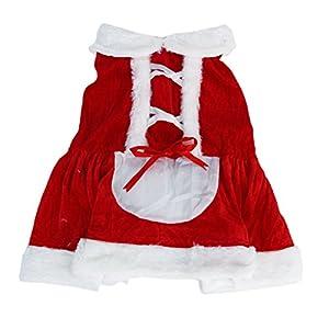 Père Noël Costume de Chien - Taille S