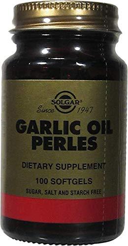 Solgar Perlas de Aceite de Ajo Cápsulas blandas - Envase de 100