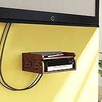Artesia Classy Wall Shelf (Brown)