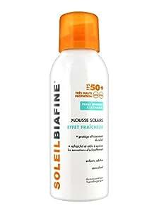 SoleilBiafine Mousse Solaire Effet Fraîcheur SPF 50+ 150 ml