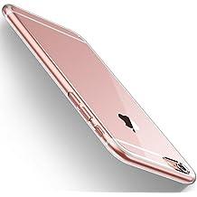 Funda iPhone 6/6s, HUMIXX Alta Calidad Ultra Slim Anti-Rasguño Totalmente Protectora Caso de Plástico Duro Cover Case (iPhone 6/6s, transparente)[Skin Series]
