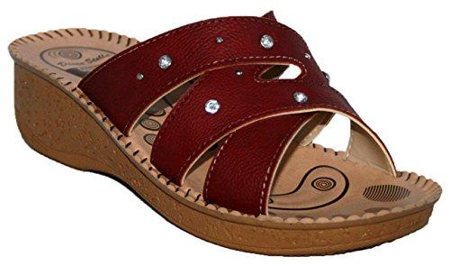 Gezer ,  Stivali donna Rosso
