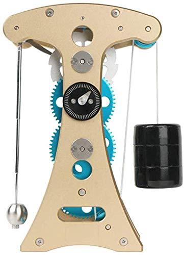 LXX Pendeluhr Modell - Ganzmetall 3D Uhr zusammengesetztes Dekompressions Puzzlespielspielzeug, DIY Bausatz fur mechanische Montage