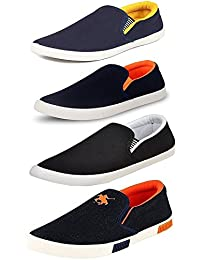 Maddy Men's Perfect Combo Pack of 4 Loafers in various sizes