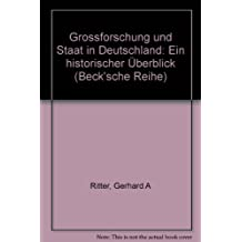 Großforschung und Staat in Deutschland