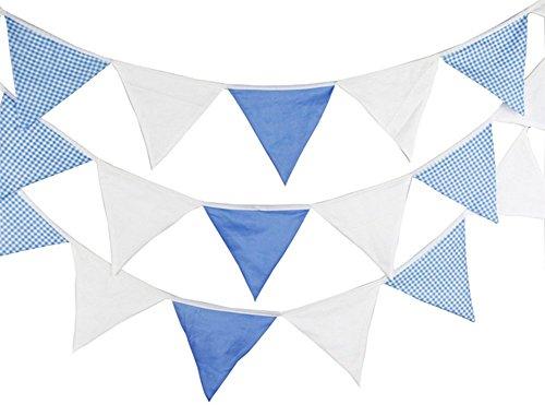 (Spaufu Wimpelkette Banner Erfrischende Farbe Pennant Party Flaggen Hochzeit Party Geburtstag Wohnzimmer Schlafzimmer Home Dekoration zufällige Farbe)