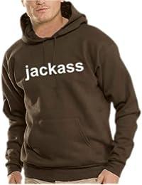 Touchlines Herren Jackass Kapuzen Sweatshirt B7119