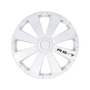 Enjoliveur 16 pouces blanc RST - pack de 4 enjoliveurs