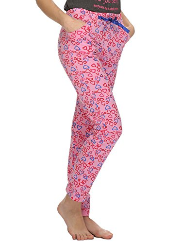Clovia - Bas de pyjama - Femme Rose - Rose