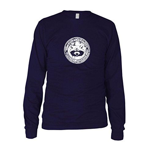 Rocket Powered - Herren Langarm T-Shirt, Größe: XXL, (Herren Kostüm Drax)