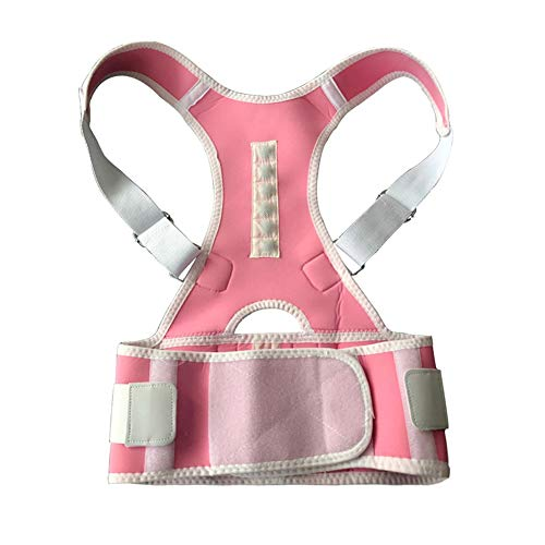 Lordosenstütze Gürtel Pad Strap Körperhaltung Korrektor Magnetische Rückenstütze Unteren Rückenstützgurt für Männer -