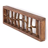 DESIGN DELIGHTS COAT RACK DRIFTWOOD UNIQUE | 32x4.7x8.5x, recycled wood, brown | wardrobe