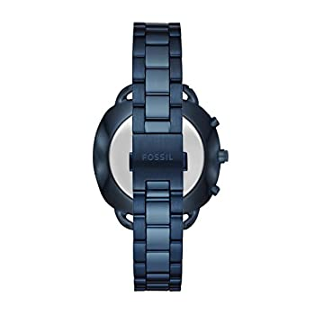 Fossil Q Accomplice Navy Blue Stainless Steel | Analogue Women's Hybrid Smartwatch Android & Ios Compatible | Bluetooth Technology - Activity & Sleep Tracking, Smartphone Notifications 2