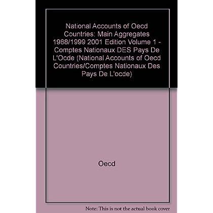 Comptes nationaux des pays de l'OCDE. Volume 1, 1998/1999