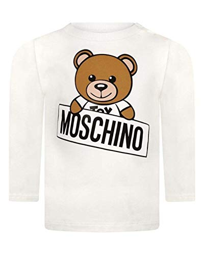 Moschino t-shirt in cotone, 9/12, cluod