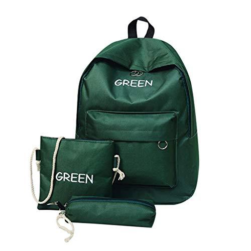 Ears Mode Frauen Outdoor Schultaschen Handgepäck Beiläufig Messenger Bag Plus Größe Rucksack Beiläufig Umhängetasche Solid Canvas Umhängetasche Freizeit Rucksack Daypacks handtaschen -