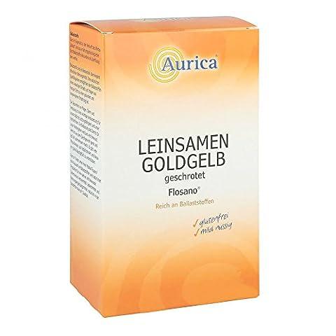 LEINSAMEN goldgelb geschrote 500 g (Leinsamen Geschrotet)