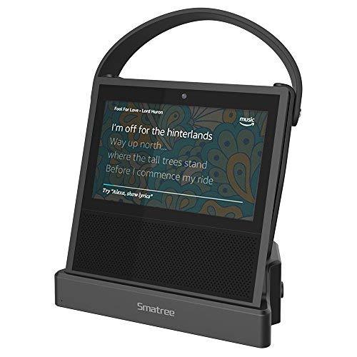 Echo Show Ladestation (Smatree Powerbank 10200 mAh für Echo Show, unterstützt Ihr Echo Show bis zu 8 Stunden) (Alexa unbegrenzt)