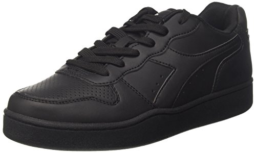 Negro De Diadora Parque Gimnasia Zapatos nero Hombre Infantil waxq1fH