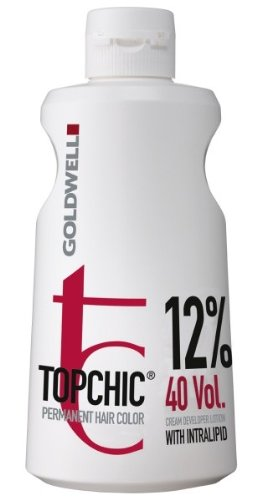 Goldwell Topchic 12% Lotion 1 x 1000 ml Cream Developer Permanent Hair Color GW -