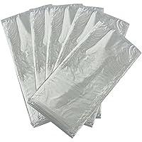 PIXNOR 50pcs PVA soluble en agua bolsa de bolsa de pesca de carpa