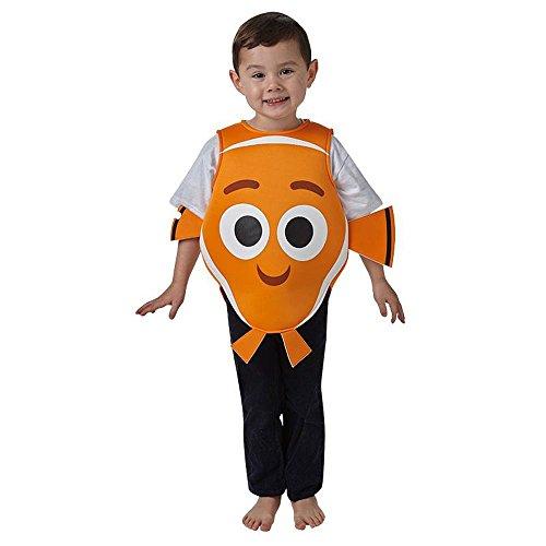 Kostüme Dory Halloween Nemo Und (Disney Kinder Kostüm Findet Dory Nemo Karneval Gr.5 bis 6)