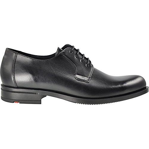 LLOYD 24-586-00 devon business chaussures à lacets-peaux épilés de bovins (noir)-semelle en caoutchouc Noir - Noir