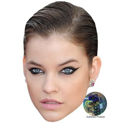 Celebrity Cutouts Barbara Palvin Maske aus Karton