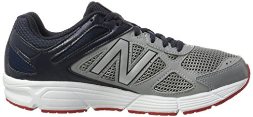 New Balance 460v1, Scarpe Running Uomo, Grey Grigio (Black/grey)