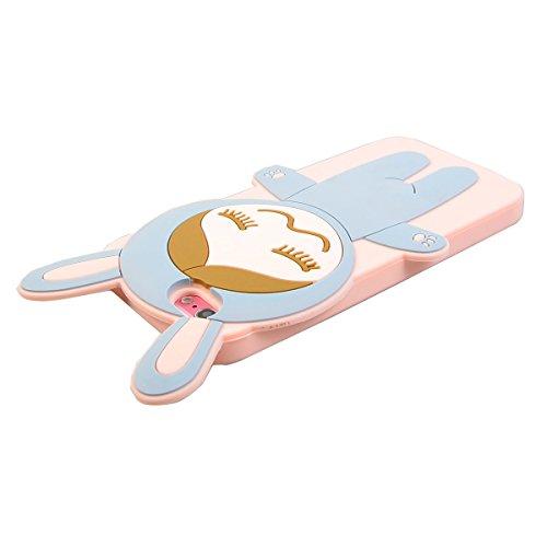 "COOLKE 3D Fashion Klassische Karikatur Tier weiche Silikon Shell Schutzhülle Hülle case cover für Apple iPhone 6 6s (4.7"") - 008 002"