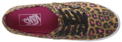 Vans U Authentic Lo Pro (Leopard) Black, Sneaker Unisex – Adulto nero (Schwarz ((Leopard) black))