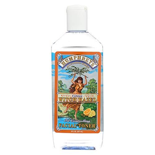 Humphreys Pharmacal Inc. Citrus Witch Hazel Oil Control Toner 2 Oz by Humphrey's