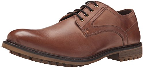 Hush Puppies Men's Rohan Rigby Oxford, Tan Leather, 10 M US Tan Leather