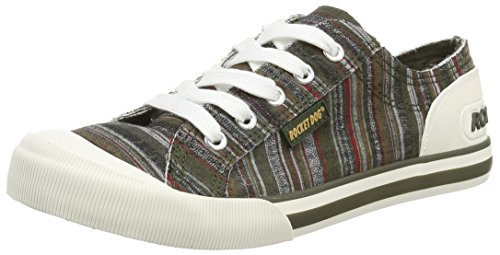 Rocket Dog JAZZIN Damen Sneakers Grün (OLIVE FAO)