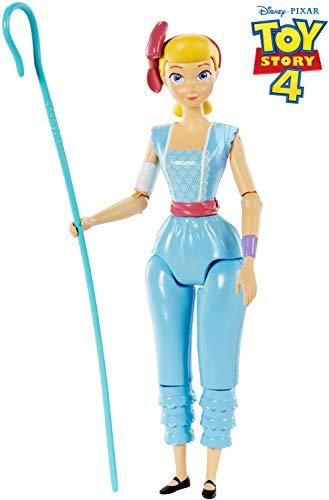 Toy Story- Disney Pixar Bo Peep, Personaggio Snodato 18 cm, Dimensioni e Proporzioni Come nel Film, per Bambini da 3+ Anni, GGX26