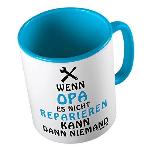 "Tasse ""Wenn Opa es nicht reparieren kann dann niemand"""