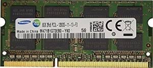 Samsung ram memory upgrade DDR3 PC3 12800, 1600MHz, 204 PIN, SODIMM for 2012 Apple Macbook Pro's, 2012 iMac's, and 2011 / 2012 Mac mini's (8GB ( 1 x 8GB ))