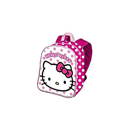 ODS 38648 Hello Kitty Petit sac à dos pour école maternelle, modèles et couleurs assortis