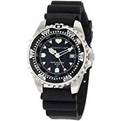 Momentum Men's 1M-DV00B1B M1 Black Dial Black Rubber Dive Watch