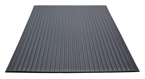 EnviroMats 24020302 Ecoguard Airstep Matte, 0.60 m x 0.90 m, Schwarz - Schwarz Vinyl-schaum