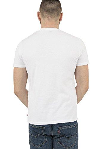 Levi's Herren T-Shirt Sportswear Logo Graphic Blanco