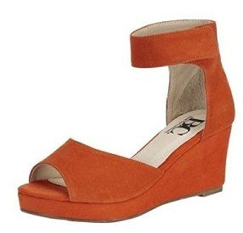 Sandalo col tacco alto di Best Connections Suede Arancione