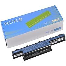 PELTEC@ - Batería de repuesto para portátil Acer Aspire 4551G, 4741, 4771G, 5336, 5551, 5736Z, 5741, 5742, 7741G, eMachines E440, E442, Gateway NV49C, NV53, NV59C, 8472 (sustituye a AS10D31, AS10D41, AS10D51, AS10D61, AS10D71, AS10D75)