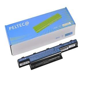 Peltec Batterie pour ordinateur portable/Notebook Acer Aspire 4551G, 4741, 4771G, 5336, 5551, 5736Z, 5741, 5742, 7741G, eMachines E440, E442, Gateway NV49C, NV53, NV59C, 8472, AS10D31, AS10D41, AS10D51, AS10D61, AS10D71, AS10D75